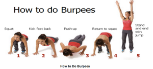 The goddamned burpee. (Photo by: 100lbslater.blogspot.com)