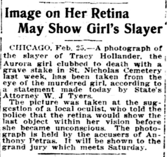 Published in The Washington Times (and nationwide, by wire) on 2/25/1914