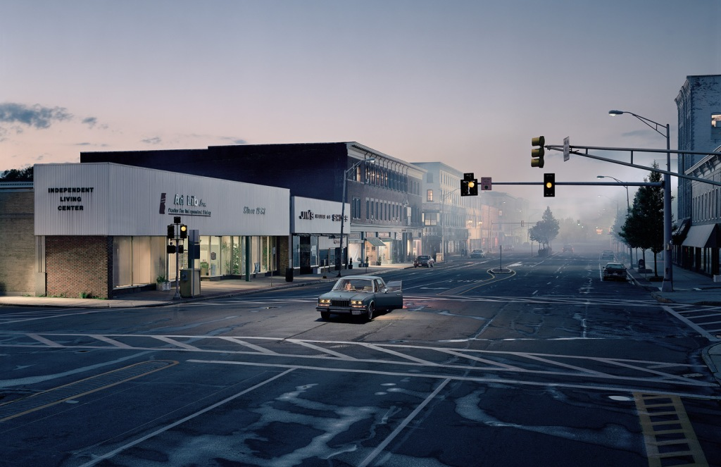 """Untitled (North by Northwest)"" 2004, by Gregory Crewdson - NewYorker.com"