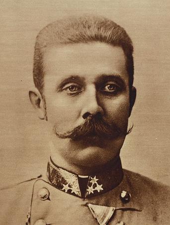 Franz-Ferdinand of Austria (Wikipedia, public domain image)