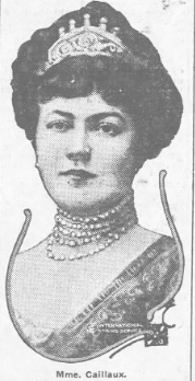 Mme Caillaux, US press report pubbed nationwide, 6/19/1914