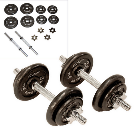 how to make pretend dumbbells