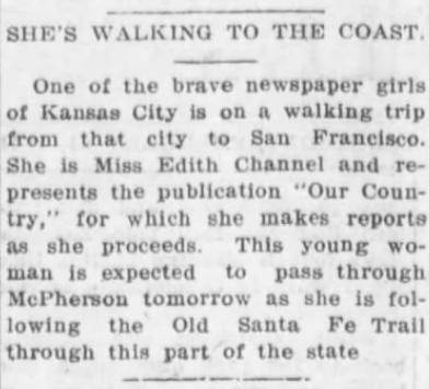 McPherson KS Daily Republican, 2/24/1915